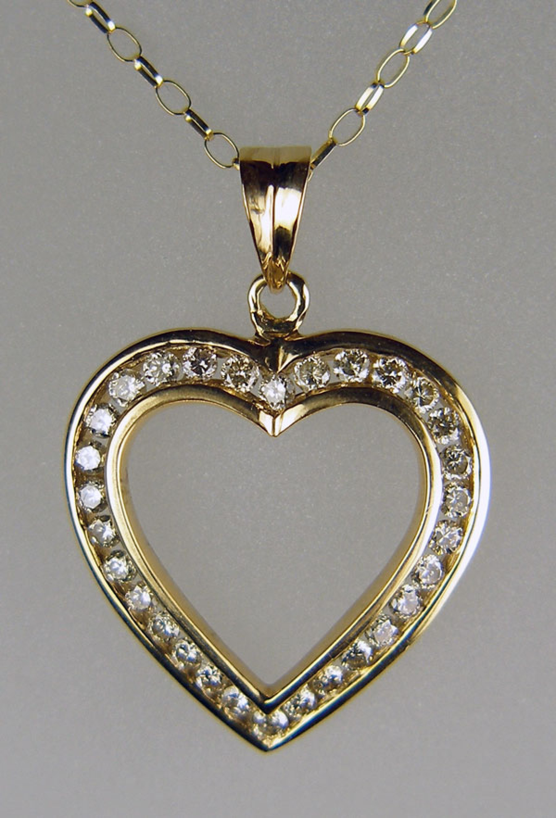 nugget htm diamond women s alaskan and custom gold pendant grcstmnugdiap