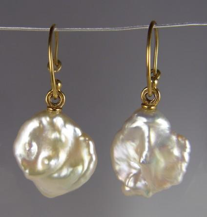 Cultured Pearl Earrings -